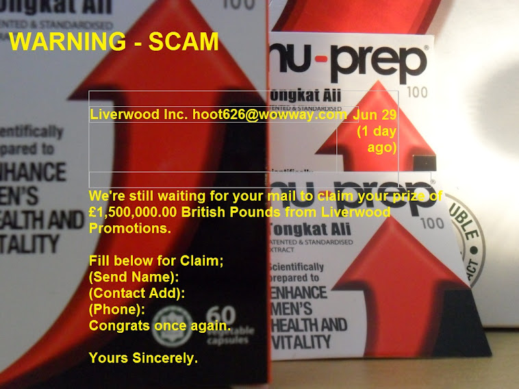WARNING - SCAM