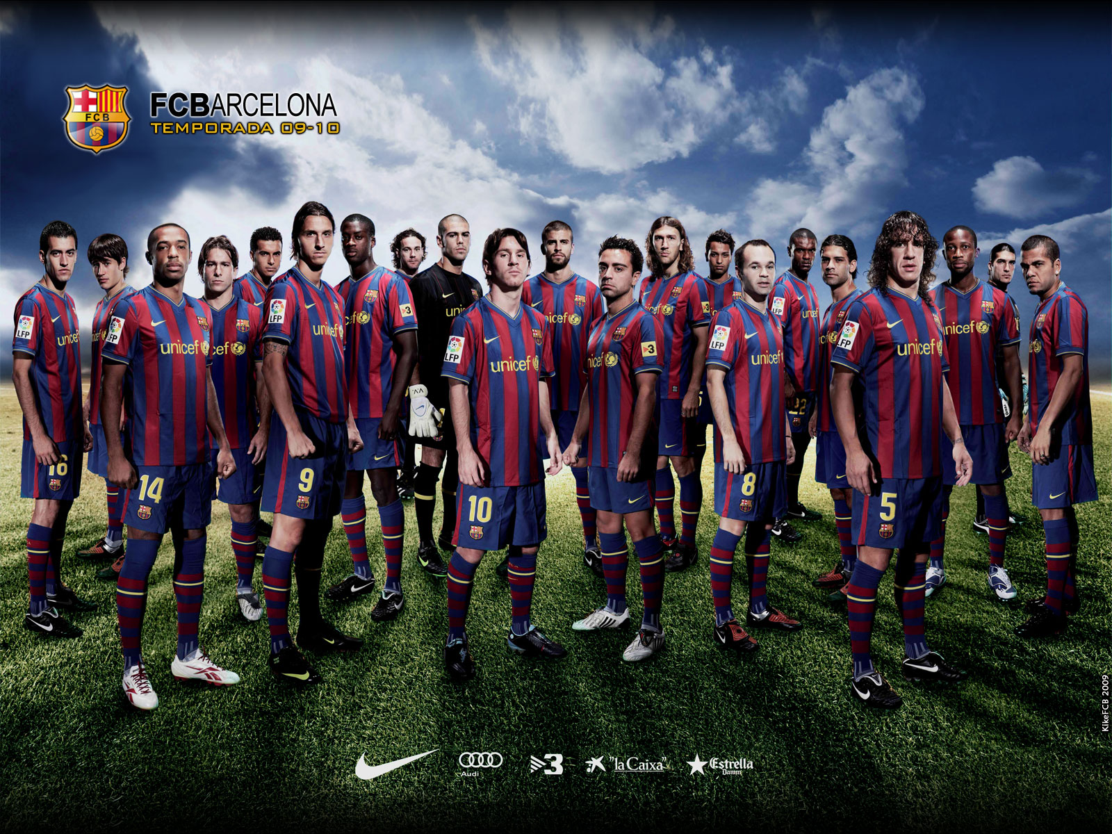 barcelona football team Photo