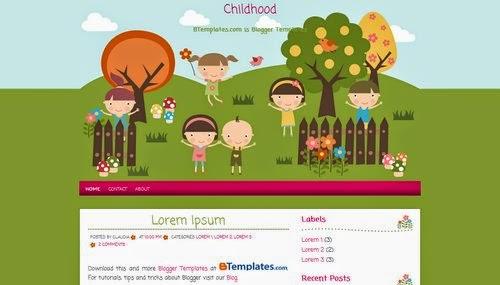 plantilla gratis childhood
