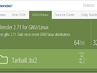 Cara Install Blender Software Pada Kali Linux