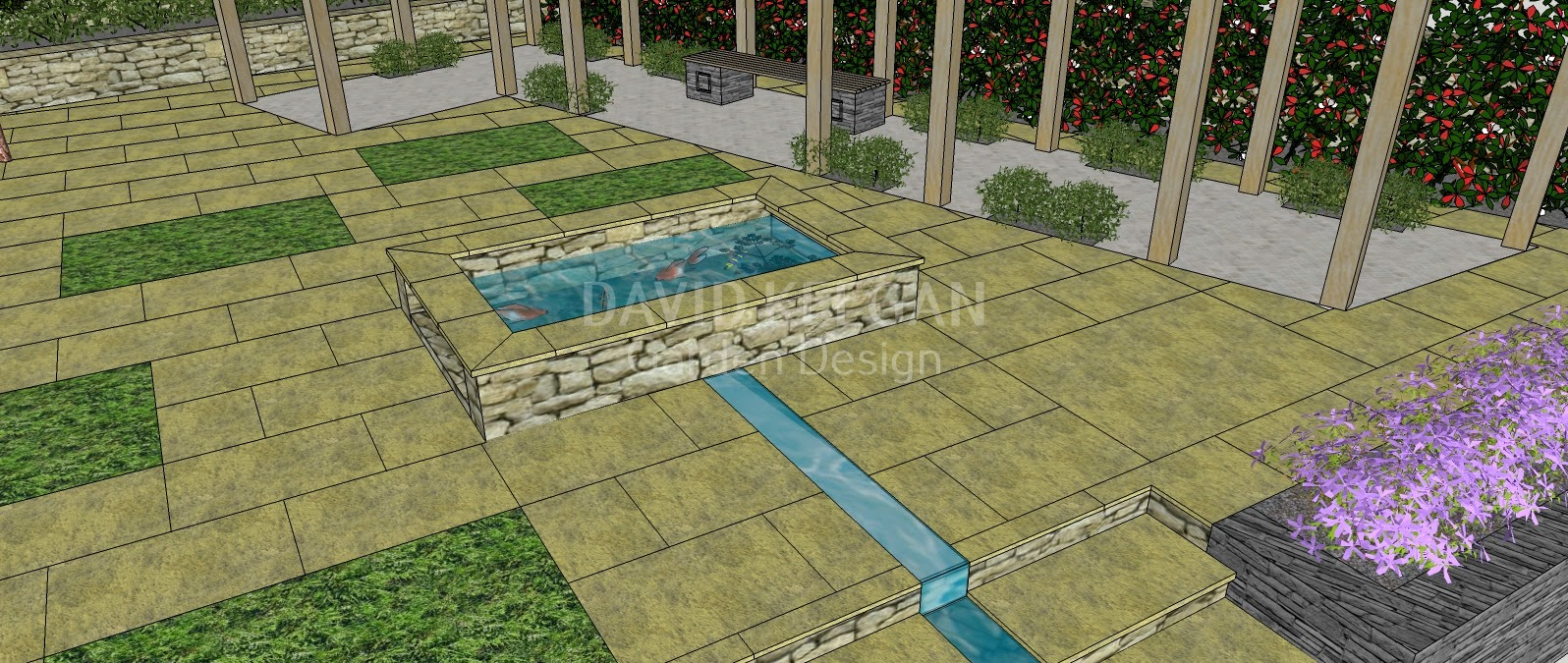 the rib cage pergola an exclusive copyrighted dk garden design original - Garden Design Kendal