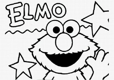 Butterfly Coloring Sheets Elmo Coloring Pages