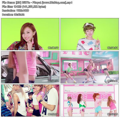 [MV] BESTie – Pitapat [HD 1080p ] Music video Free Download