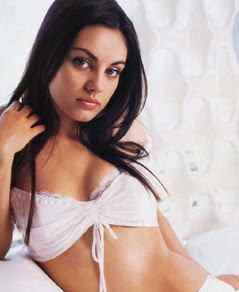 Mila Kunis US model latest photo collection 2012