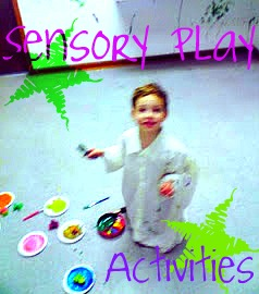 sensory play activities for preschool and processing disorders