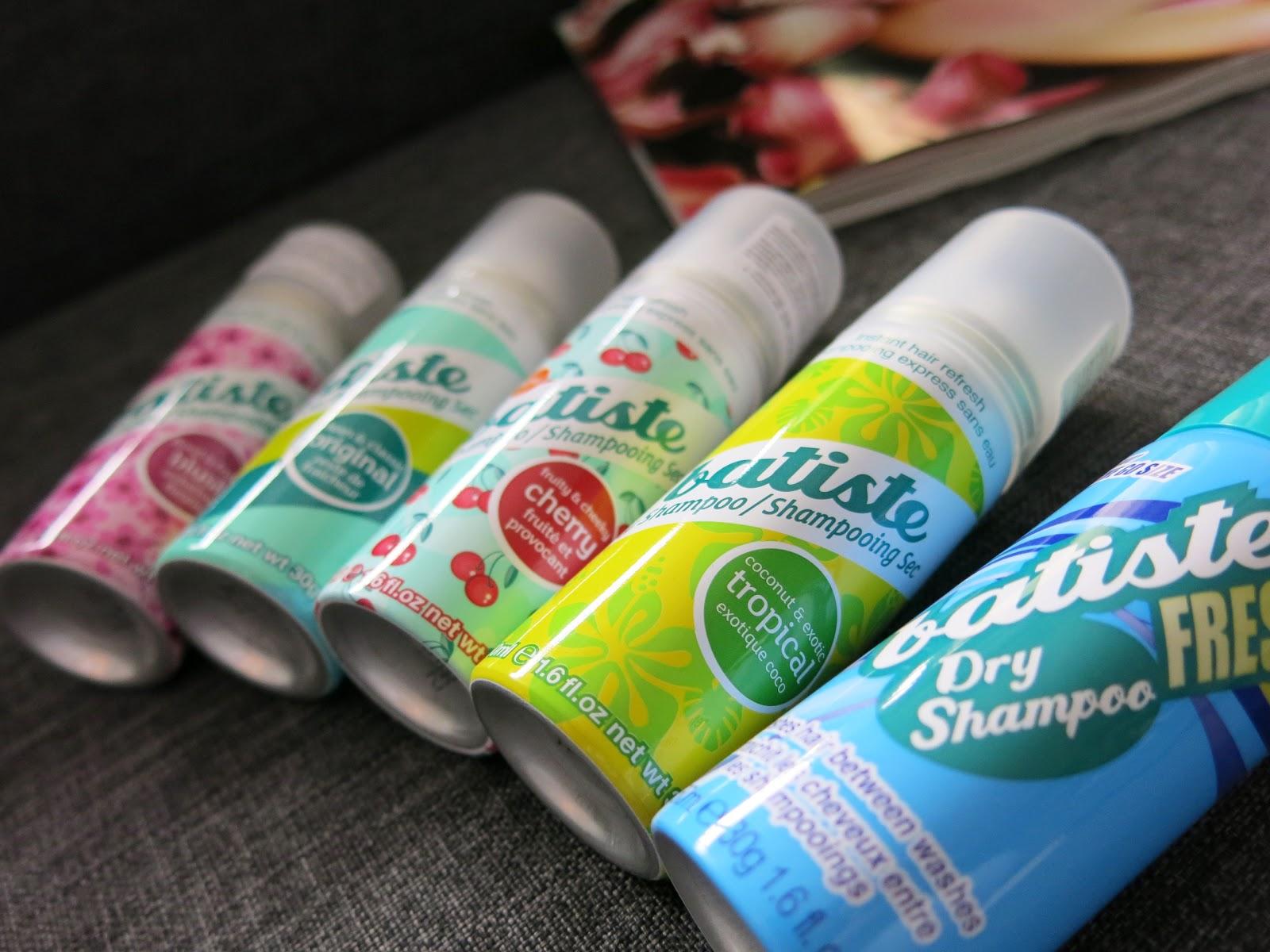 Suchy szampon Batiste - wersja mini.