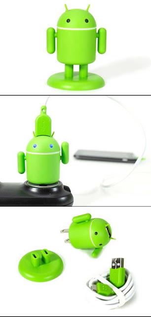 COOL : Pengecas Telefon Pintar Berbentuk Robot Android