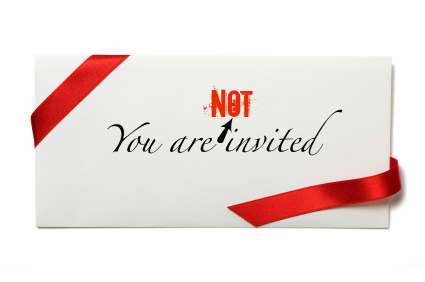 Not Invited To Wedding is one of our best ideas you might choose for invitation design