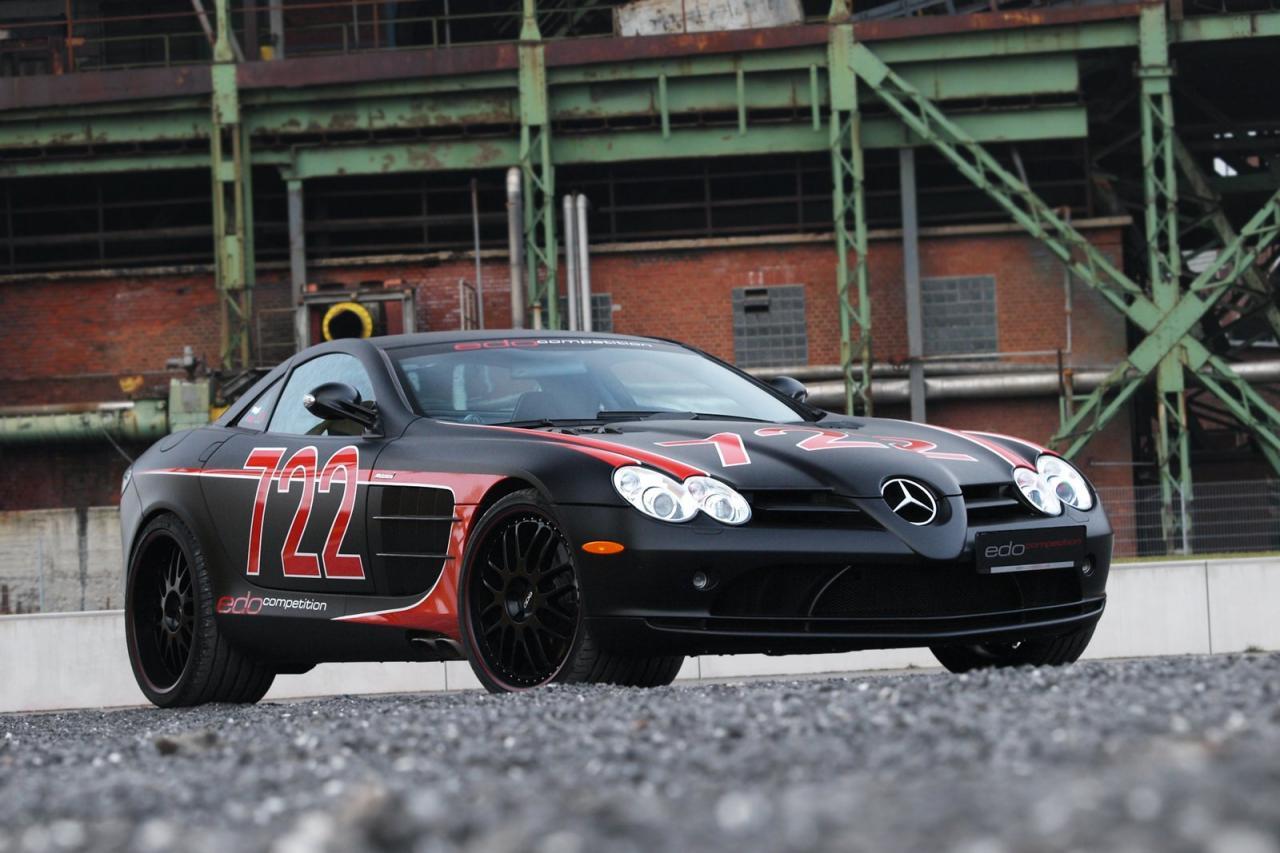 Mercedes SLR McLaren 722 Black
