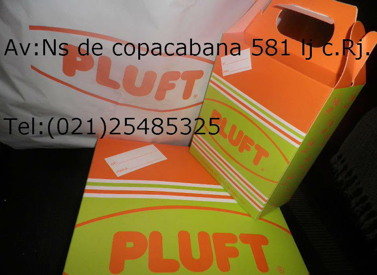 Pluft, no coração de copacabana.