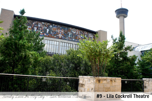 Downtown San Antonio public art - San Antonio Mural Tour - Convention Center