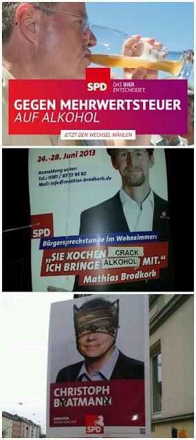 Elections allemandes - la SPD