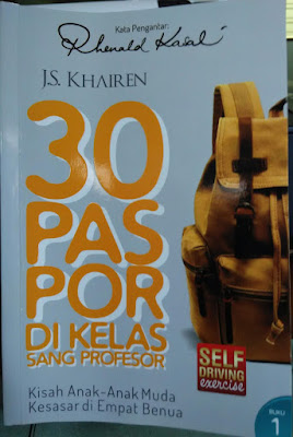 Resensi Buku 30 Paspor di Kelas Sang Profesor