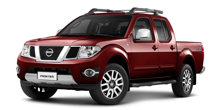 Nissan Frontier - Vermelho Flame (Metálico)