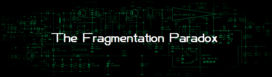 The Fragmentation Paradox