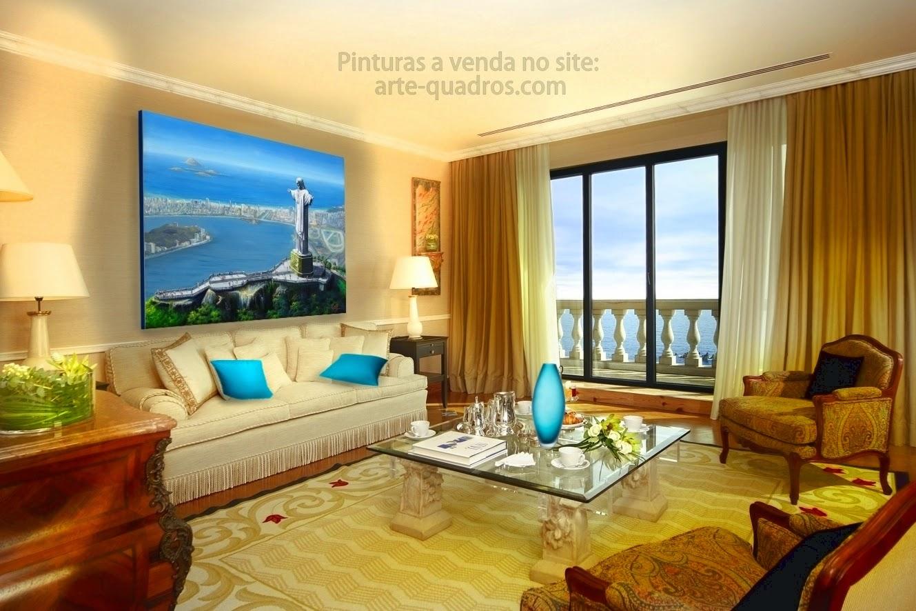 Venda de quadros com pinturas originais artes pl sticas for Pinturas plasticas para interiores