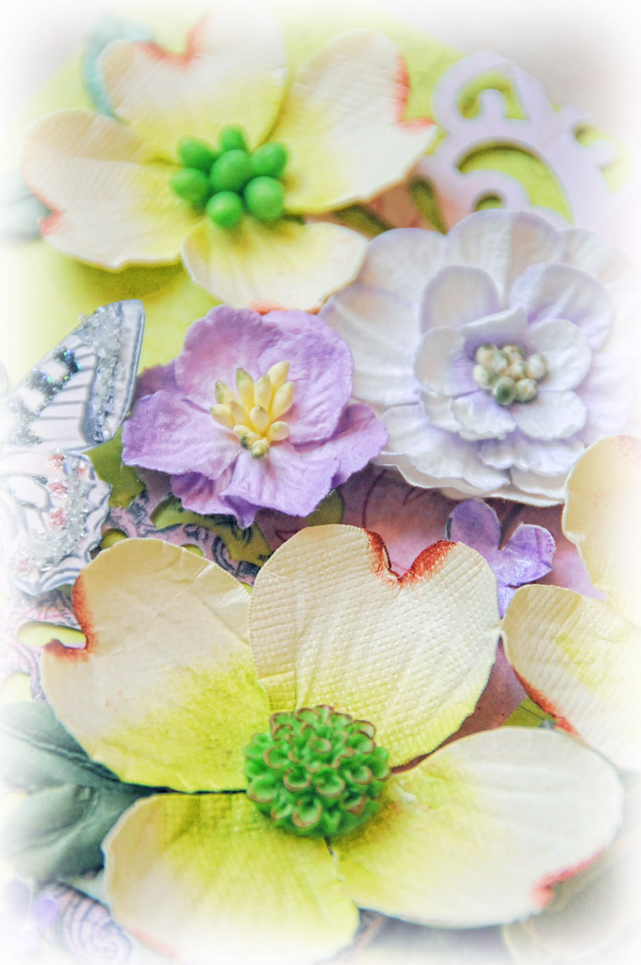 What A Beautiful Mess Dogwood Elegance Flower Tutorial For Scraps