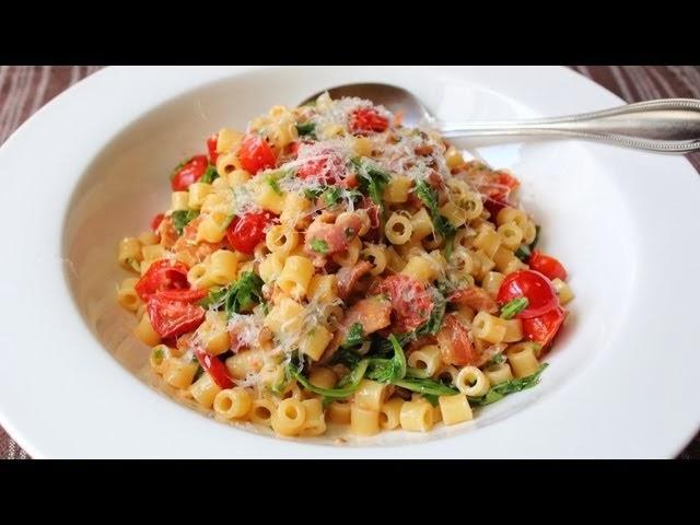 Chef John's BLT pasta gerecht