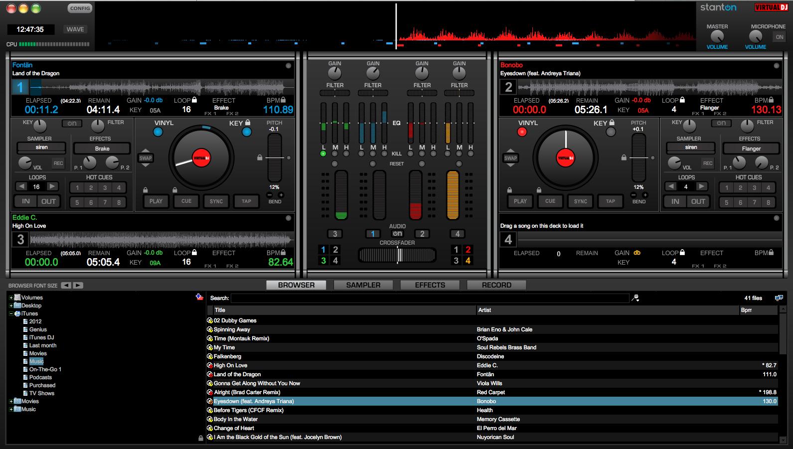 Using Samples in Virtual DJ