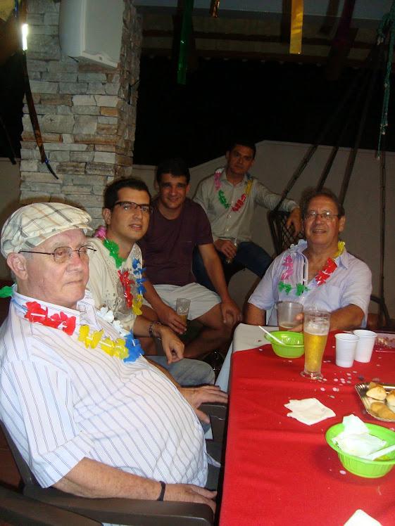 Laerte, Radamés, Luiz Claudio, Heyder e Natim