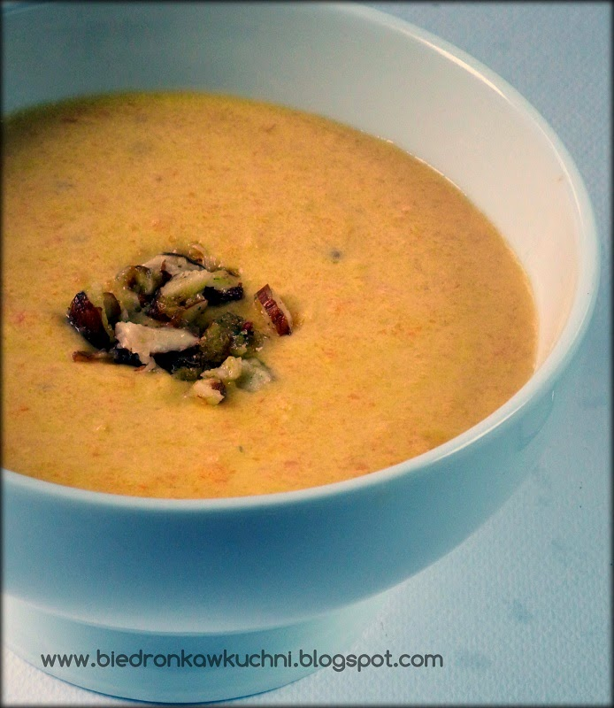 zupa, marchew, kokos, zupa rozgrzewająca