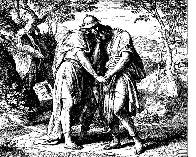 Santos Queer: David y Jonatán: Amor entre varones en la Biblia