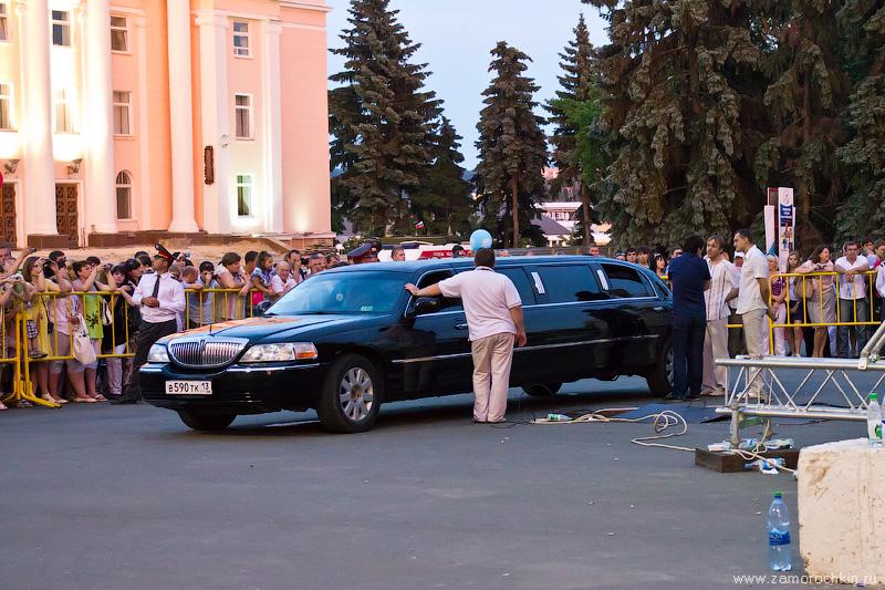 Чёрный Линкольн. Концерт группы Фабрика. День города в Саранске.