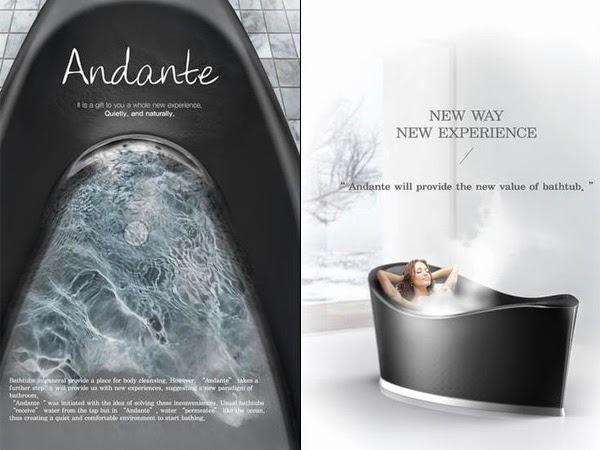 Уникальная ванна Andante