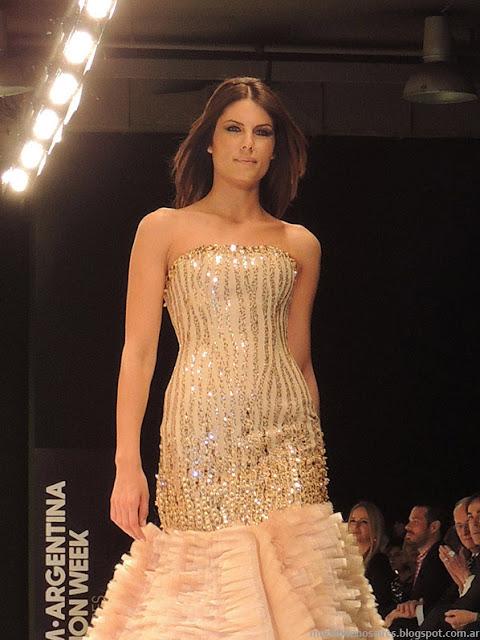 Claudio Cosano 2014 vestidos 2014.