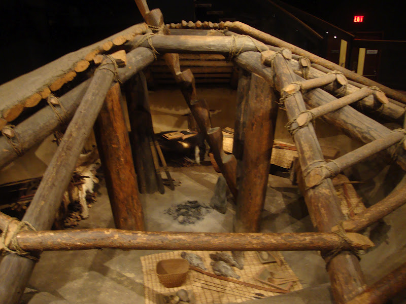 Climber Amp Explorer Pit Houses Of The Aboriginal Canadians