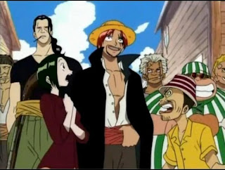red haired pirates shanks le roux crew member one piece