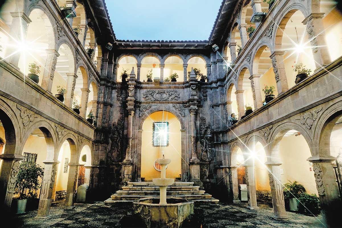 El palacio del barroco mestizo tesoro arte pintura for Sala 7 concepcion