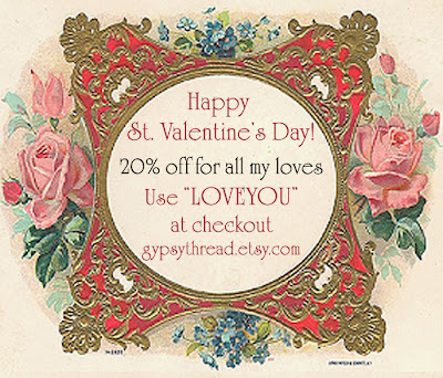 20% off at Gypsy Thread