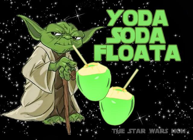 Yoda Soda Floata Free Printable Star Wars Party