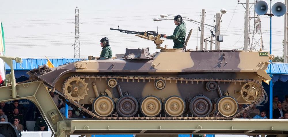 Fuerzas Armadas de Iran BoraghAPC2
