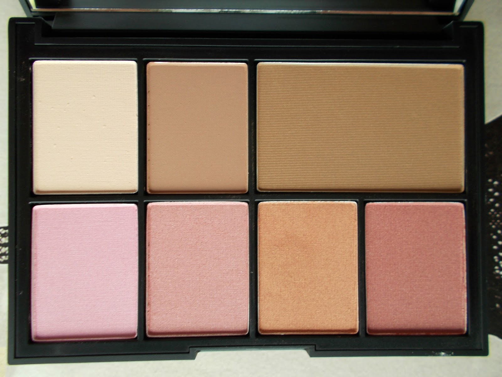 NARS One Shocking Moment palette close up