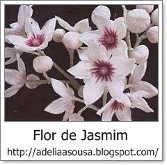Selo Oficial Flor de Jasmim