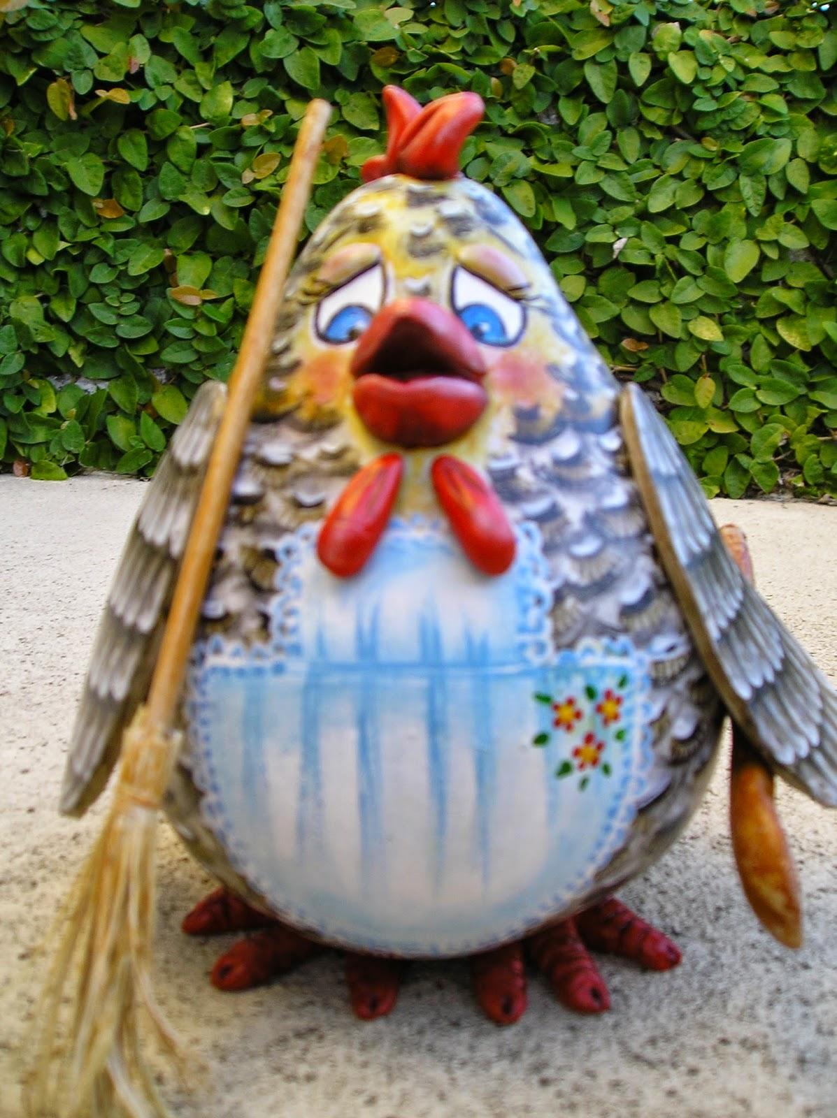 G pato en una calabaza - Calabazas pintadas y decoradas ...