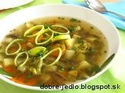 Zeleninová polievka s pohánkou - recept