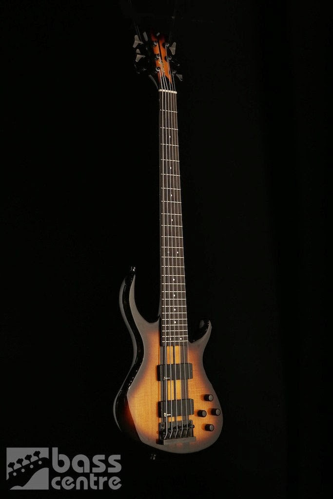 Bass: USED TOBIAS 6 STRING NECK THRU W/GIGBAG