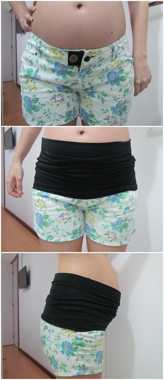 Testamos e Aprovamos - Kit Mammybelt para aproveitar as suas calças durante a gravidez