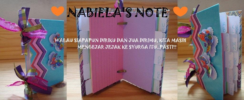 nABiELa'S nOTe...