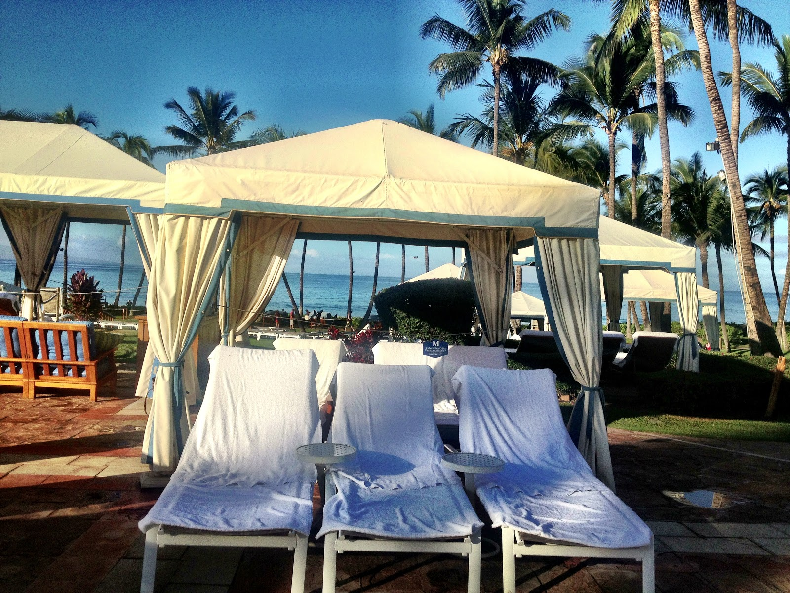 Cabanas Grand Wailea : Travels with mel maui day a relaxing at the grand
