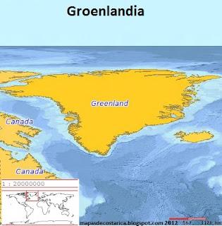 Groenlandia (planiglobe)