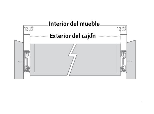 Bricolaje cajones tutorial instalar correderas for Mueble que empiece por r