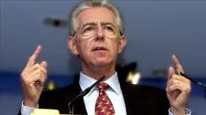 Mario Monti Italian PM