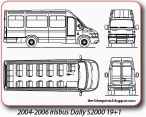 Vector blueprints cars trucks busses and others bus blueprints maz malvernweather Images