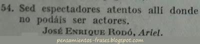 frases de José Enrique Rodó