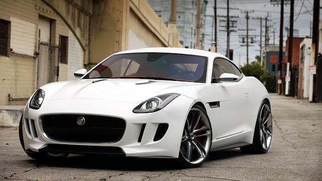 Jaguar C-X16 Concept front side