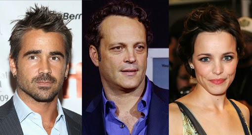 Colin Farrell, Vince Vaughn y Rachel McAdams protagonizarán True Detective